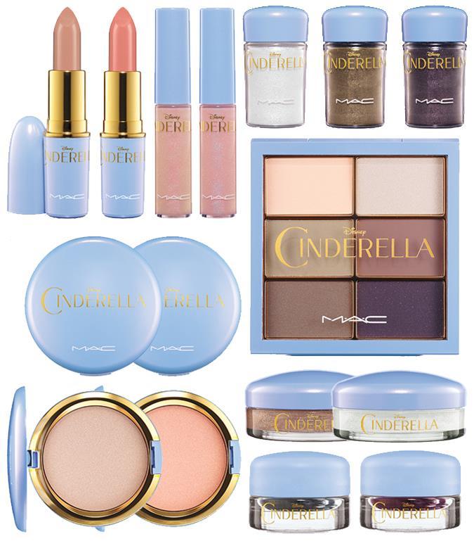 Cinderella la collezione di Mac Cosmetics