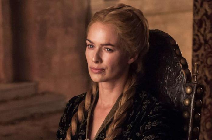 Lena Headey nel ruolo di Cersei Lannister in Game of Thrones
