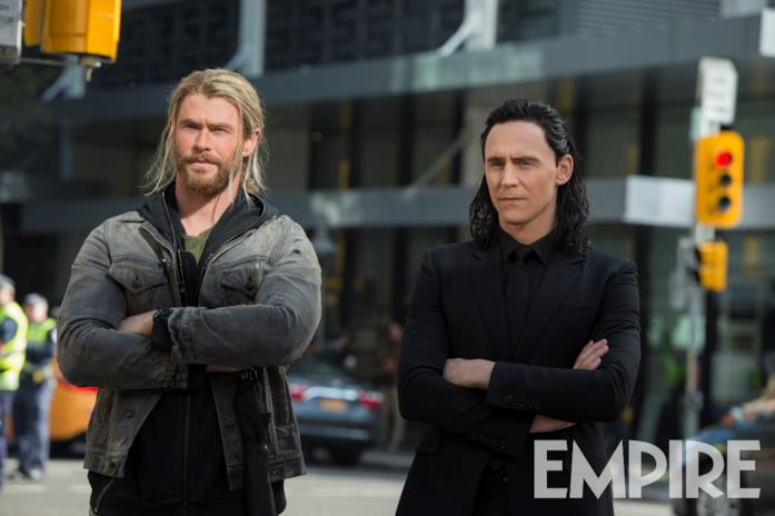 Thor e Loki sulla Terra