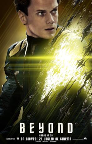 Star Trek: Beyond, ecco il character poster di Chekov