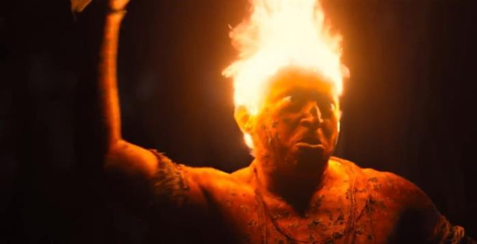 Il mostro con la testa in fiamme di Città Invisibile