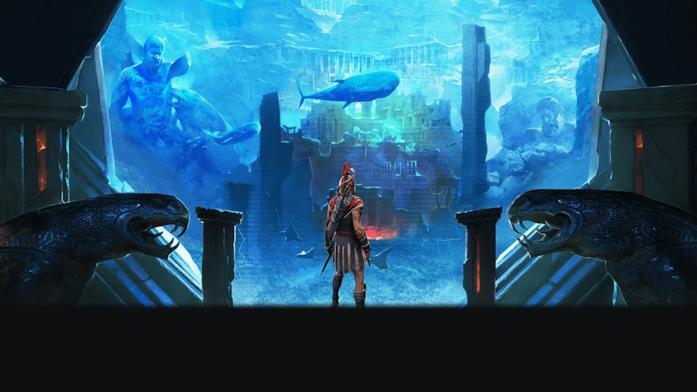 Assassin's Creed Odyssey ci porta tra i misteri di Atlantide