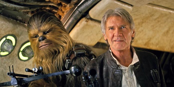 Han Solo e Chewbacca sono due protagonisti della saga creata da George Lucas