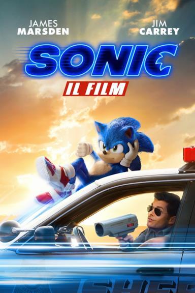 Poster Sonic - Il film