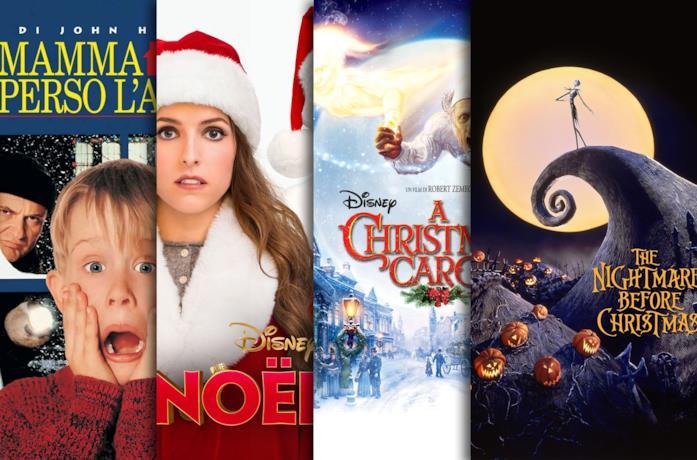 I poster di Mamma, ho perso l'aereo, Noelle, A Xmas Carol, The Nightmare Before Xmas