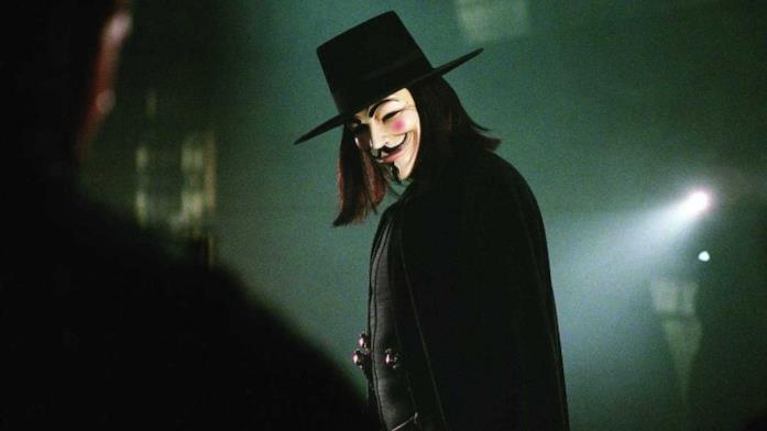 V per Vendetta - Una scena
