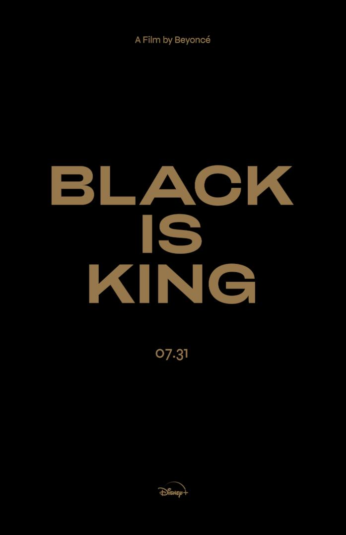 La locandina di Black is King