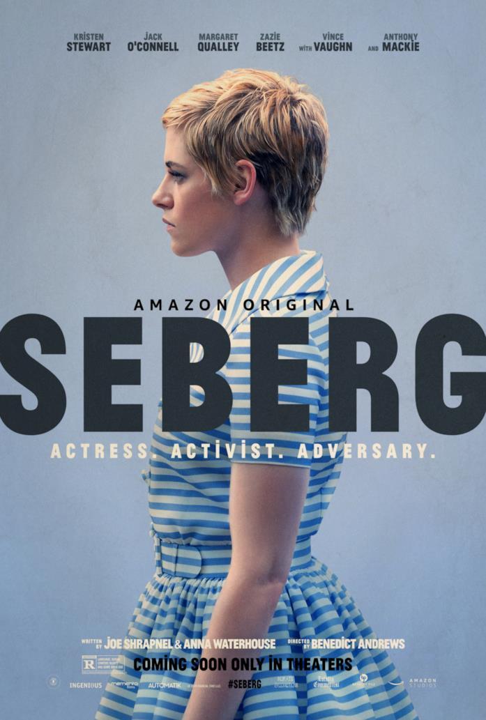Il poster del film Seberg