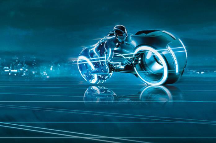 Un'immagine di Tron: Legacy