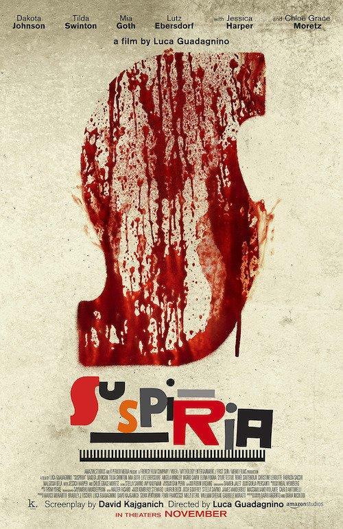 Il poster del remake di Suspiria