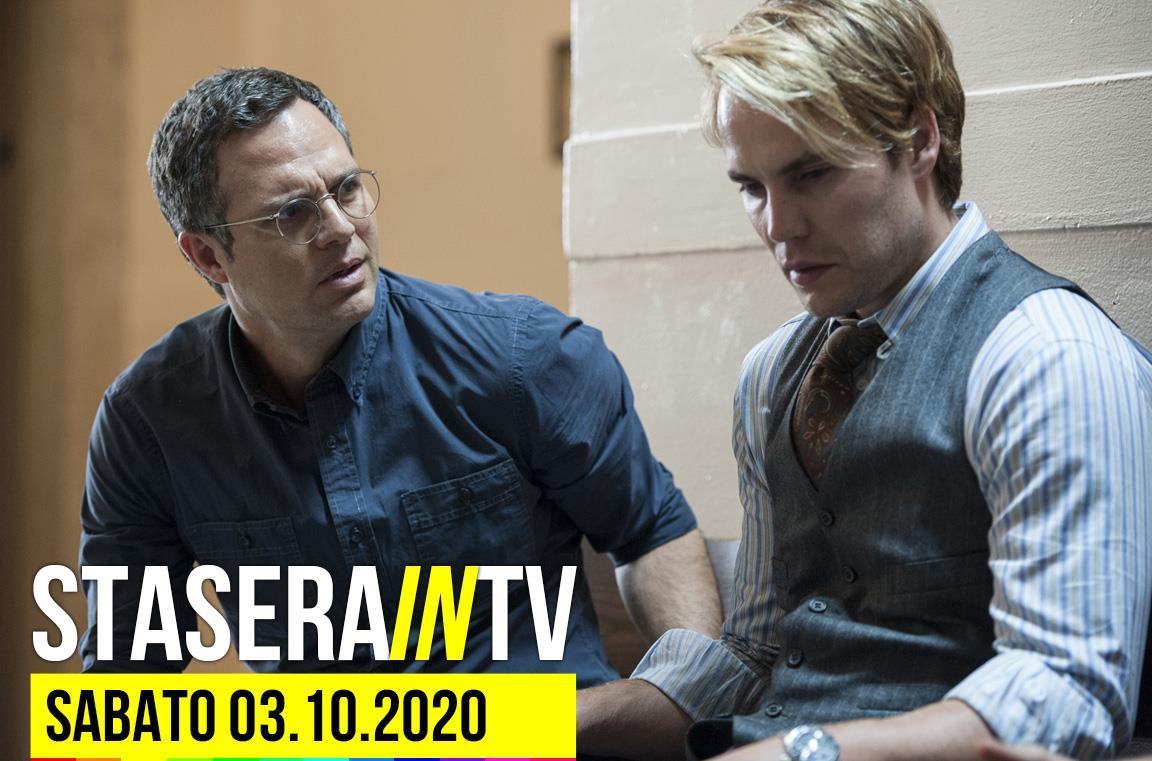 I film oggi in tv 3 ottobre