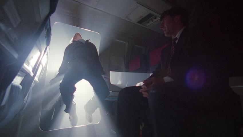Una scena di X-Files