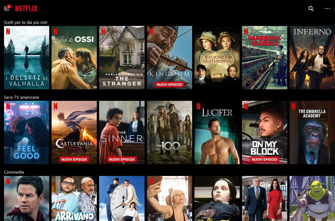 Home di Netflix