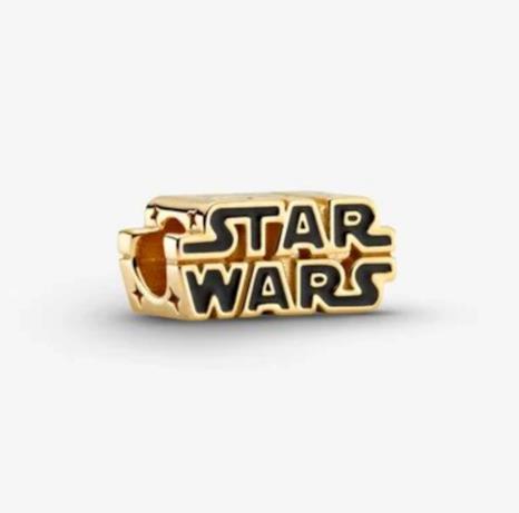 Logo oro della collezione Star Wars x Pandora