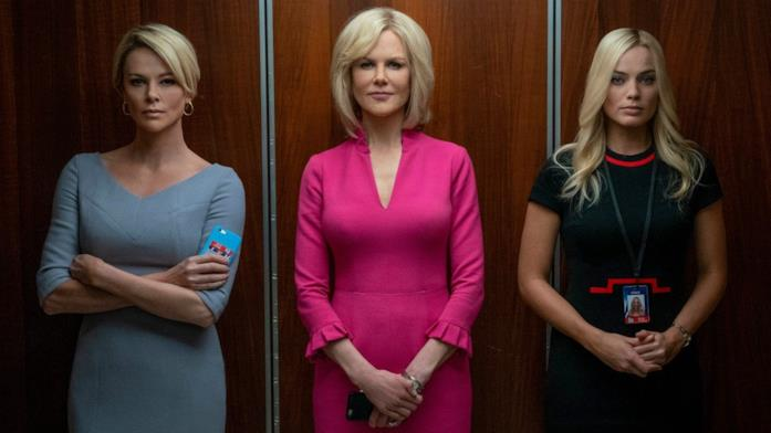 Charlize Theron, Nicole Kidman e Margot Robbie