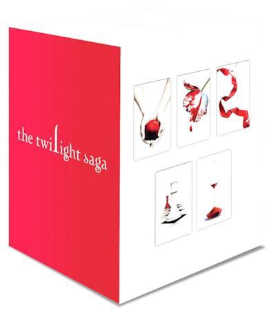 Twilight Saga 5 Libri