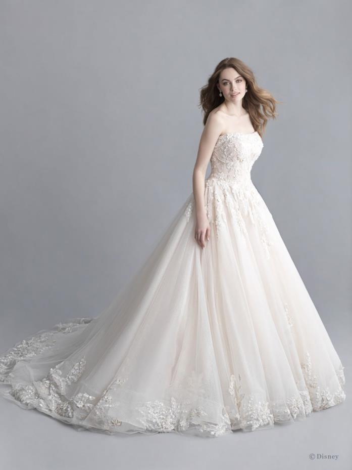 Variante abito da sposa Aurora Allure Bridals
