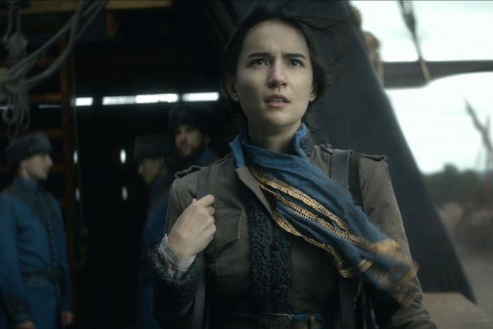 Alina è interpretata da Jessie Mei Li
