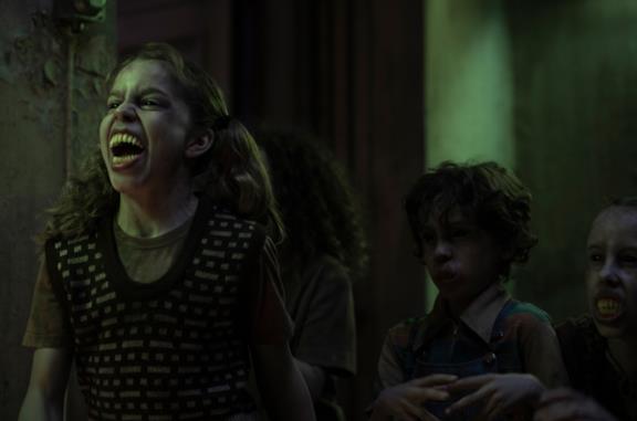Una scena della serie TV Bloodride