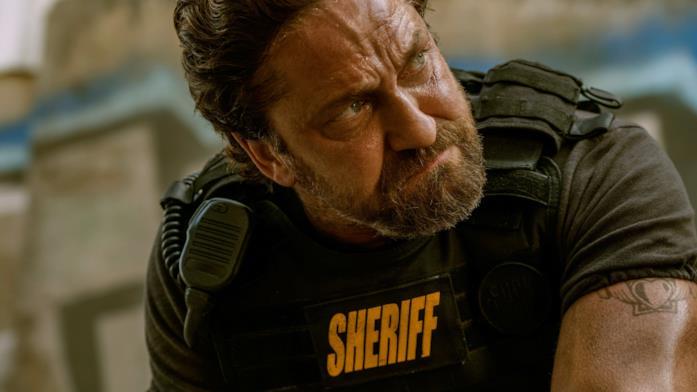 """Gerard Butler è Nick """"Big Nick"""" O'Brien nel film Nella tana dei lupi"""