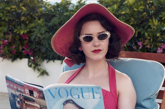 La fantastica signora Maisel legge Vogue