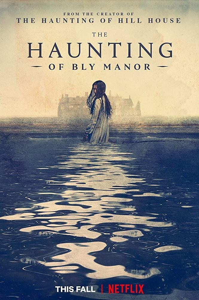 Una bambina fantasma nel poster di The Haunting of Bly Manor