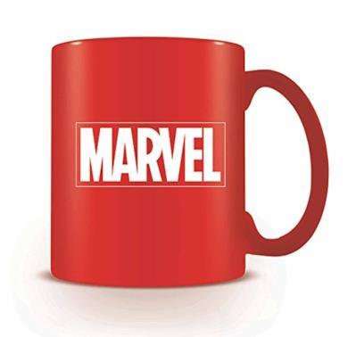 AMBROSIANA Tazza Marvel Logo Red