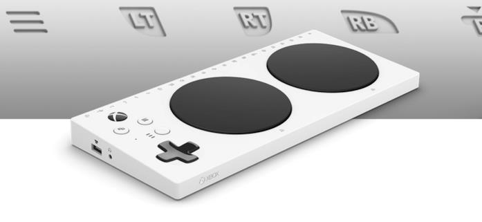 Immagine stampa dell'Xbox Adaptive Controller