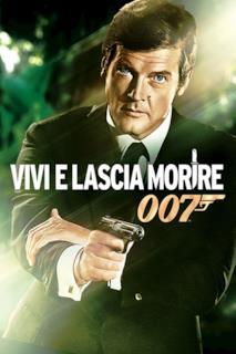 Poster Agente 007 - Vivi e lascia morire