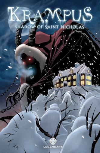 Il fumetto (in inglese) collegato al film Krampus - Natale non è sempre Natale