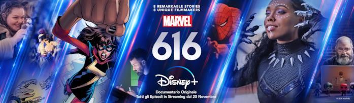Banner coi protagonisti di Marvel 616