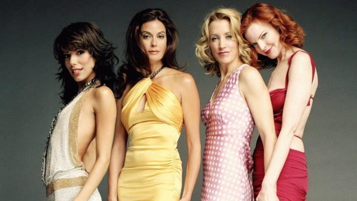 Primo piano delle attrici di Desperate Housewives
