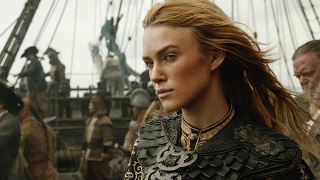Keira Knightleyin Pirati dei Caraibi