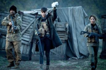 Una scena di SAS: L'ascesa del Cigno Nero