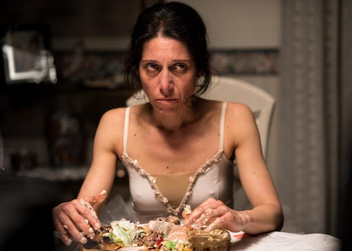 Maria mangia le paste