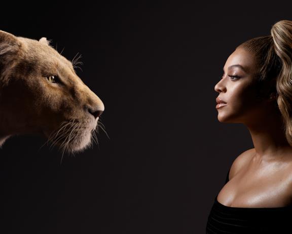La cantante Beyoncé nel cast di doppiatori de Il Re Leone