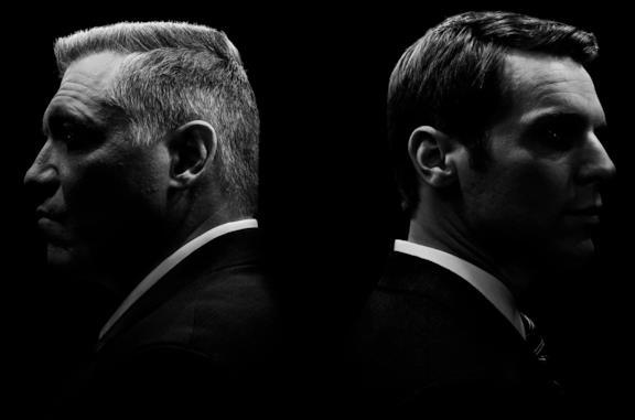 I protagonisti di Mindhunter, gli agenti Bill Tench e Holden Ford