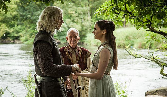Il matrimonio tra Rhaegar Targaryen e Lyanna Stark