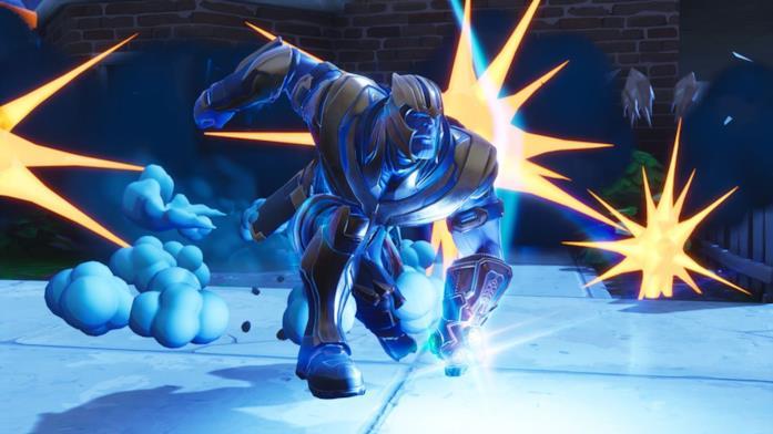 Thanos e il Guanto dell'Infinito arrivano in Fortnite con un evento