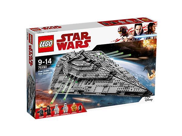 Scatola dello Star Destroyer Lego