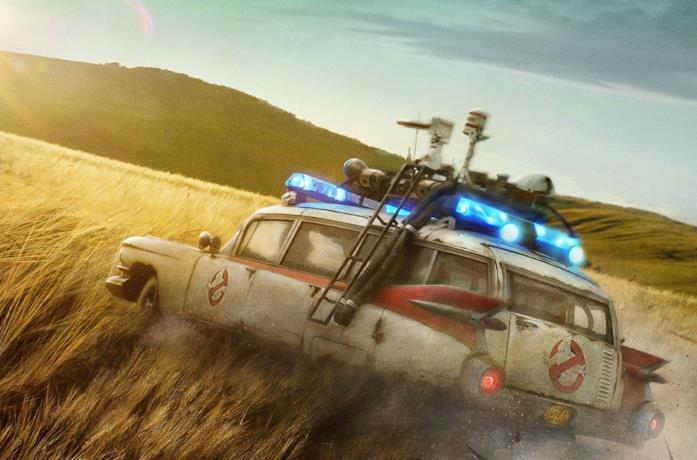 La Ecto-1 nel teaser poster di Ghostbusters: Legacy