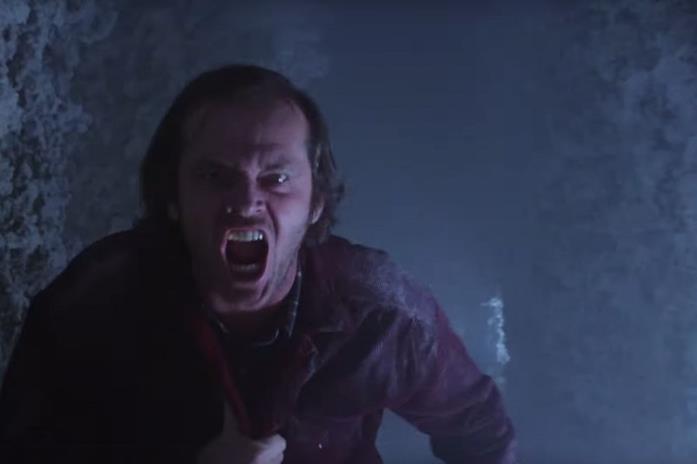 Jack insegue Danny nel labirinto