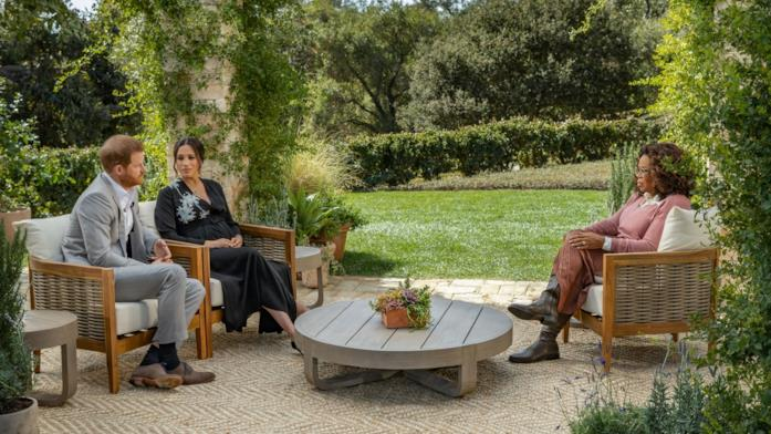 Meghan e Harry intervistati da Oprah Winfrey