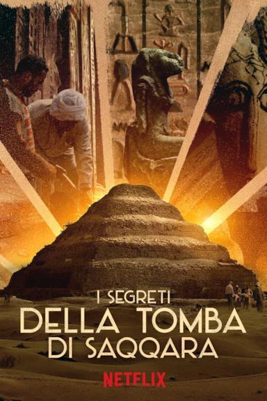 Poster I segreti della tomba di Saqqara