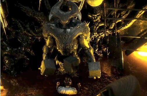 Steppenwolf nella sua prima versione apparsa nella director's cut di Batman V Superman: Dawn of Justice
