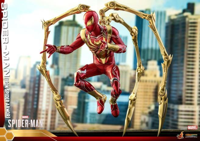 Un'immagine di Iron Spider
