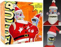 Bender + Robo Santa