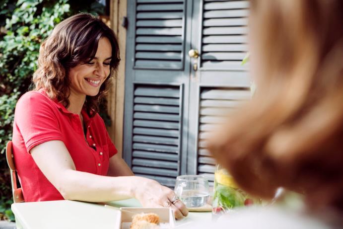 Kasia Smutniak nel ruolo di Sara in Made in Italy