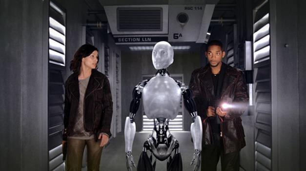 Una scena tratta da Io, Robot