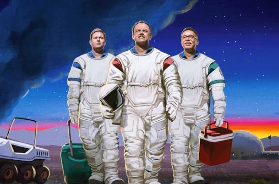 Moonbase 8: trailer, trama e informazioni sulla serie comedy